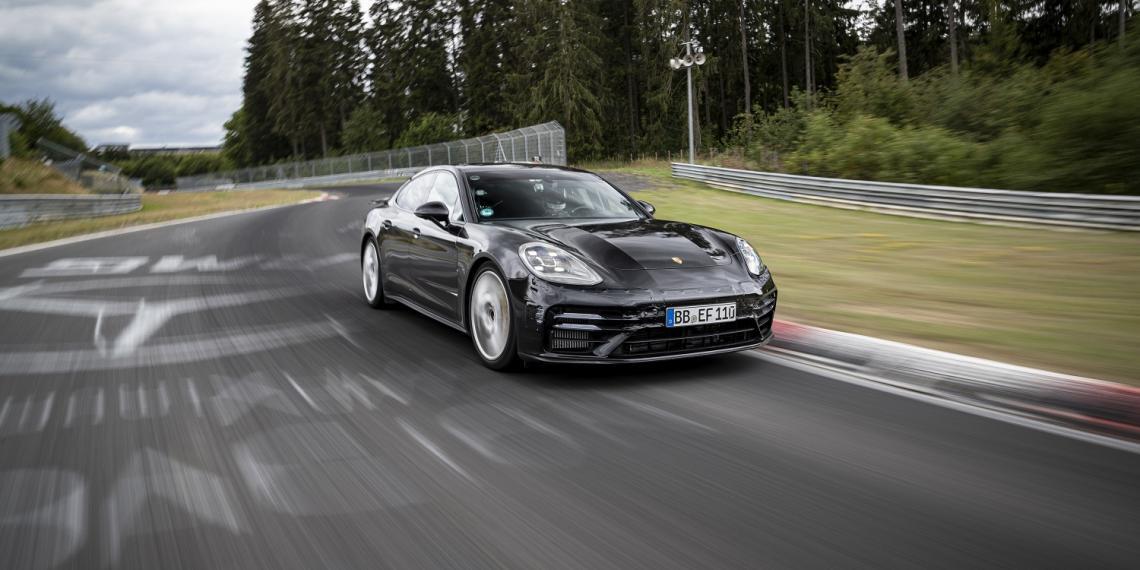 Porsche Panamera на шинах MICHELIN установил новый рекорд