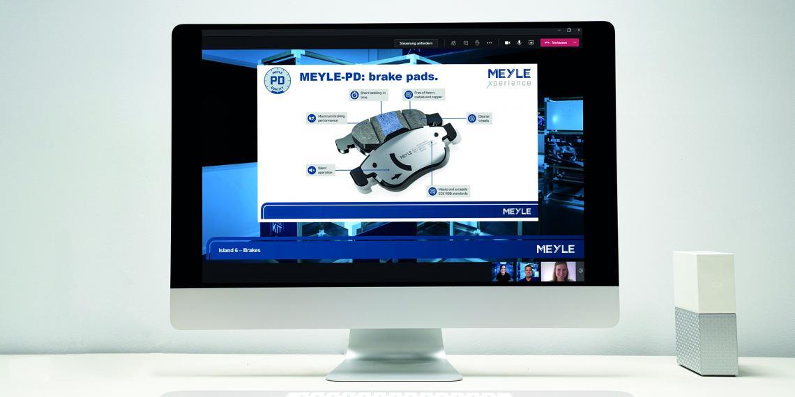 MEYLE создала виртуальный стенд