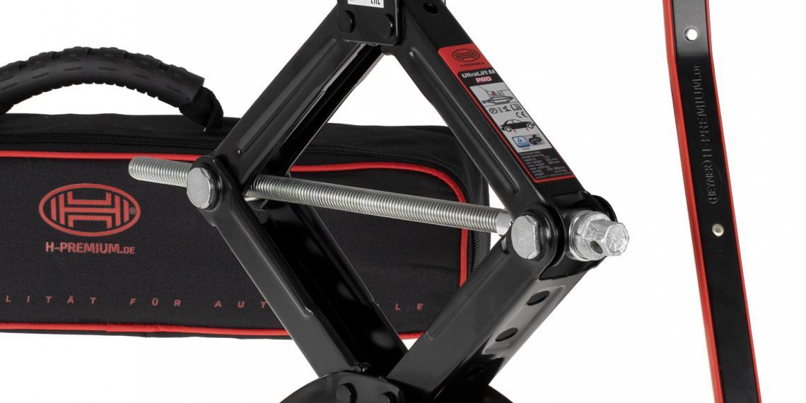 Новые механические домкраты HEYNER Black Edition