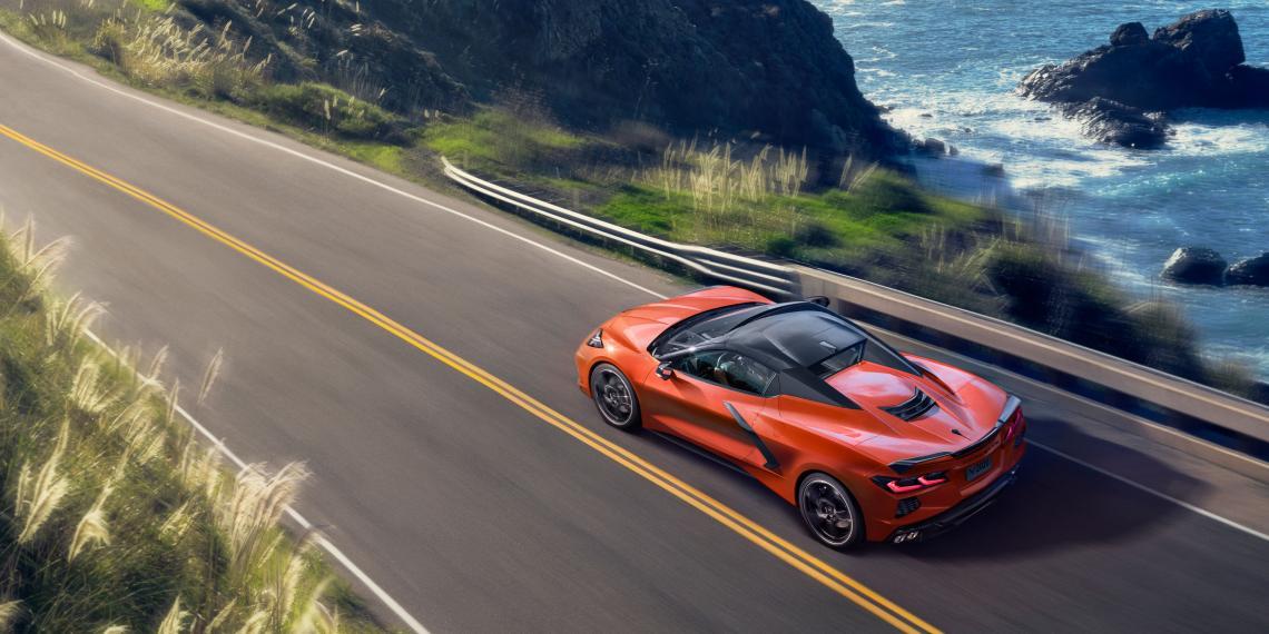 Webasto создала складную жесткую крышу для Corvette