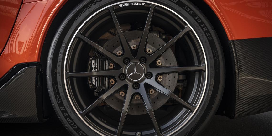 MICHELIN выпустила шины для Mercedes-AMG GT Black Series