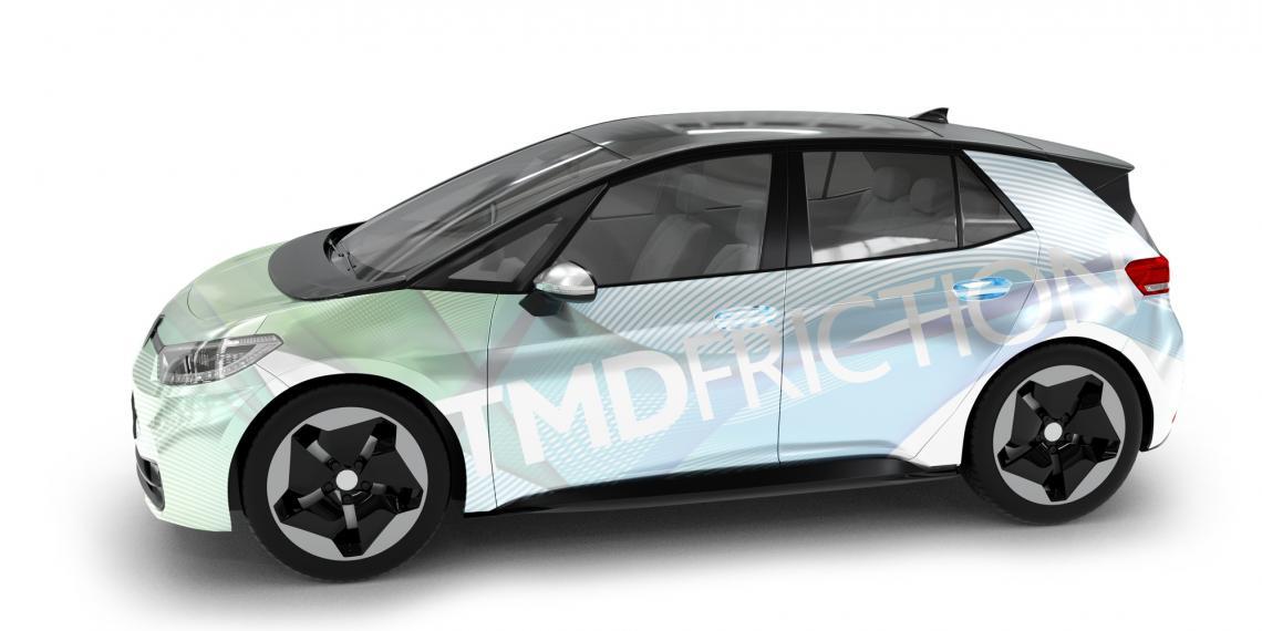Электромобиль VW ID.3 получил задние барабанные тормоза с колодками от TMD Friction