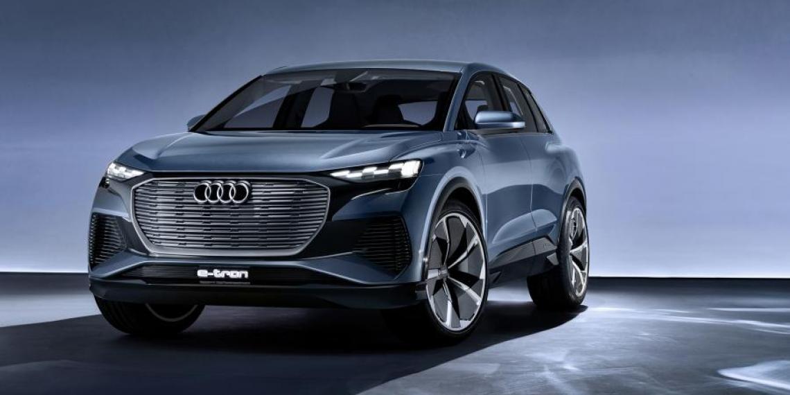 Audi планирует полностью перейти на электричество