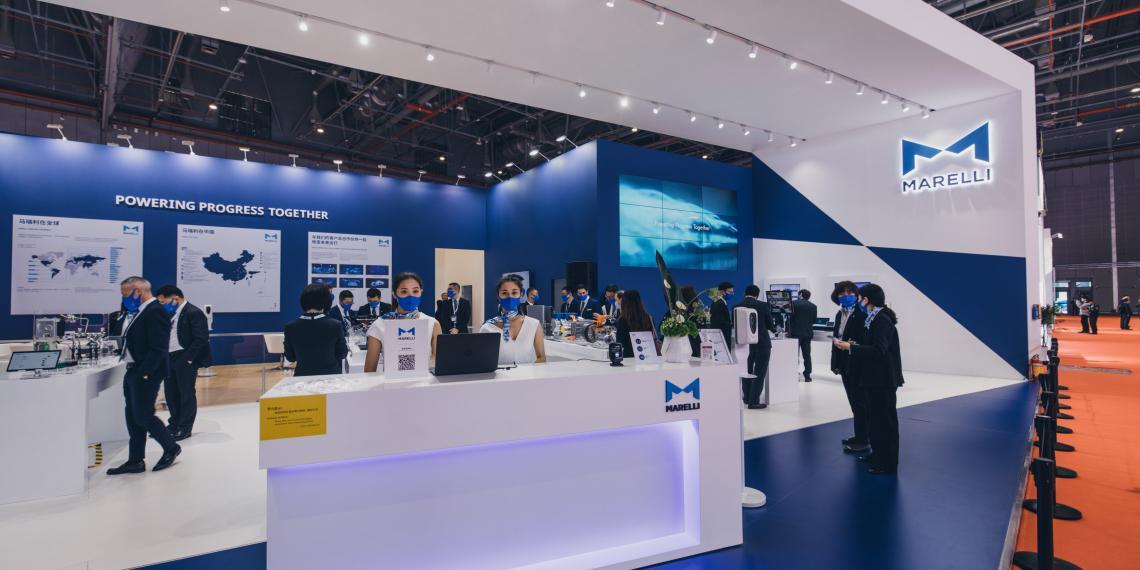 Marelli на выставке Auto Shanghai 2021