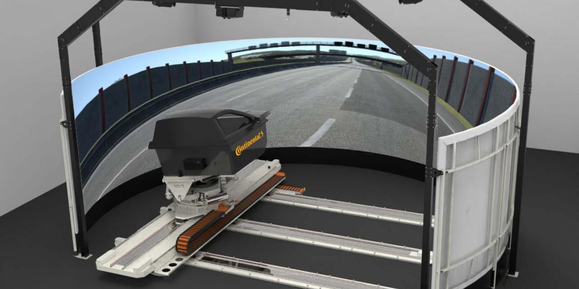Новейший симулятор динамического вождения