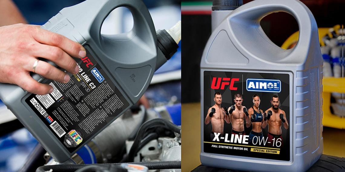 AIMOL открывает продажи моторных масел в лицензионном партнерстве с UFC
