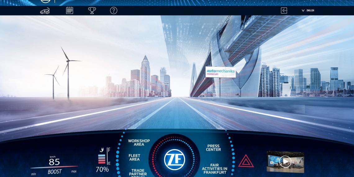 ZF в виртуальном мероприятии Automechanika Digital Plus