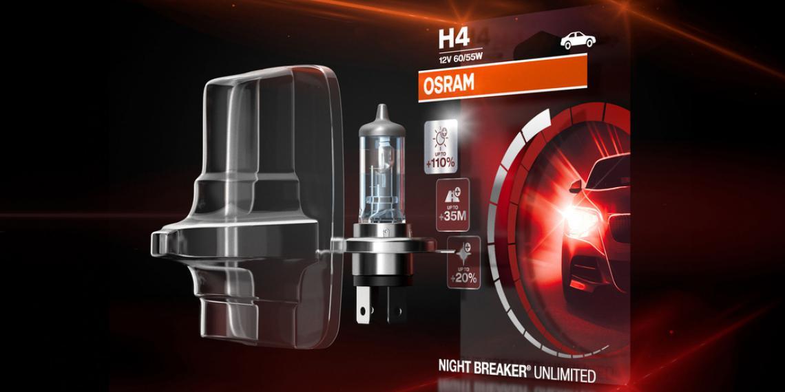 Упаковка автоламп Osram получила премию iF Design Award