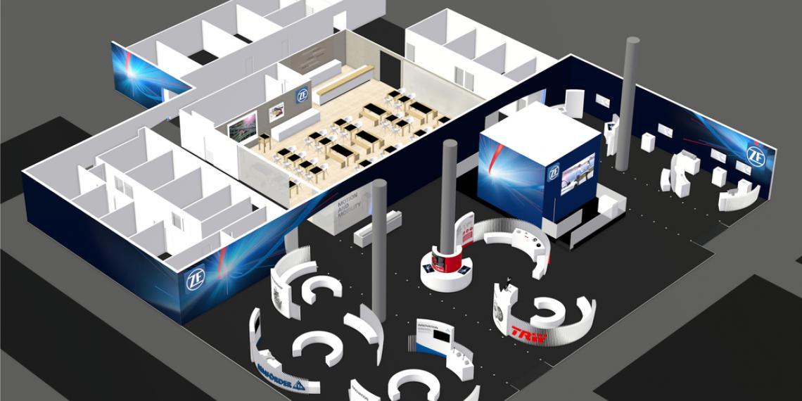 Инновационные решения ZF на Automechanika 2016 во Франкфурте