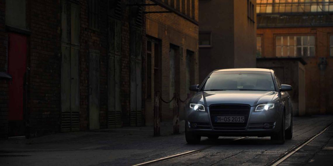 Osram начала производство фар для Audi