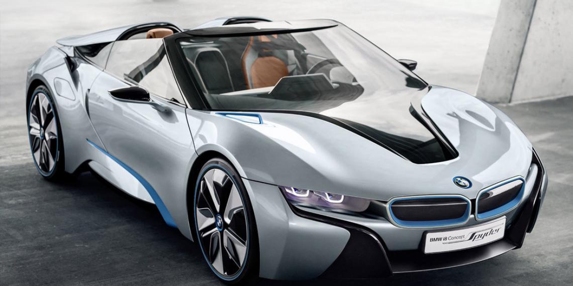 BMW использует стекло для телефона