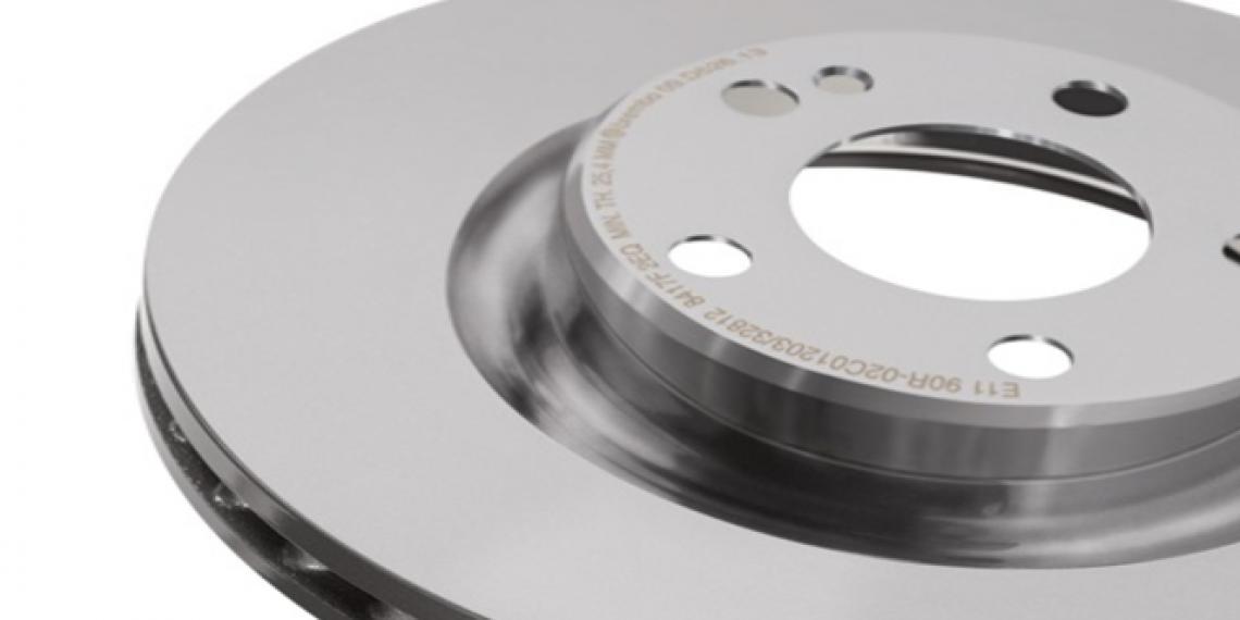 Новый тормозной диск Brembo co-cast