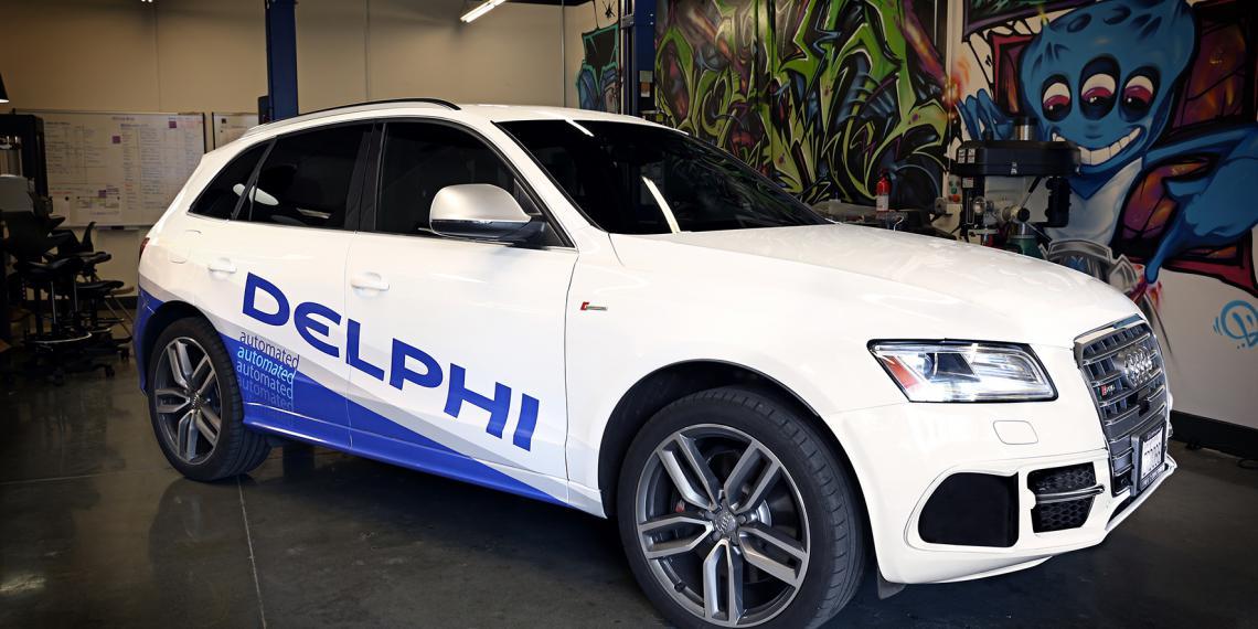 Передовые технологии Delphi на выставке CES