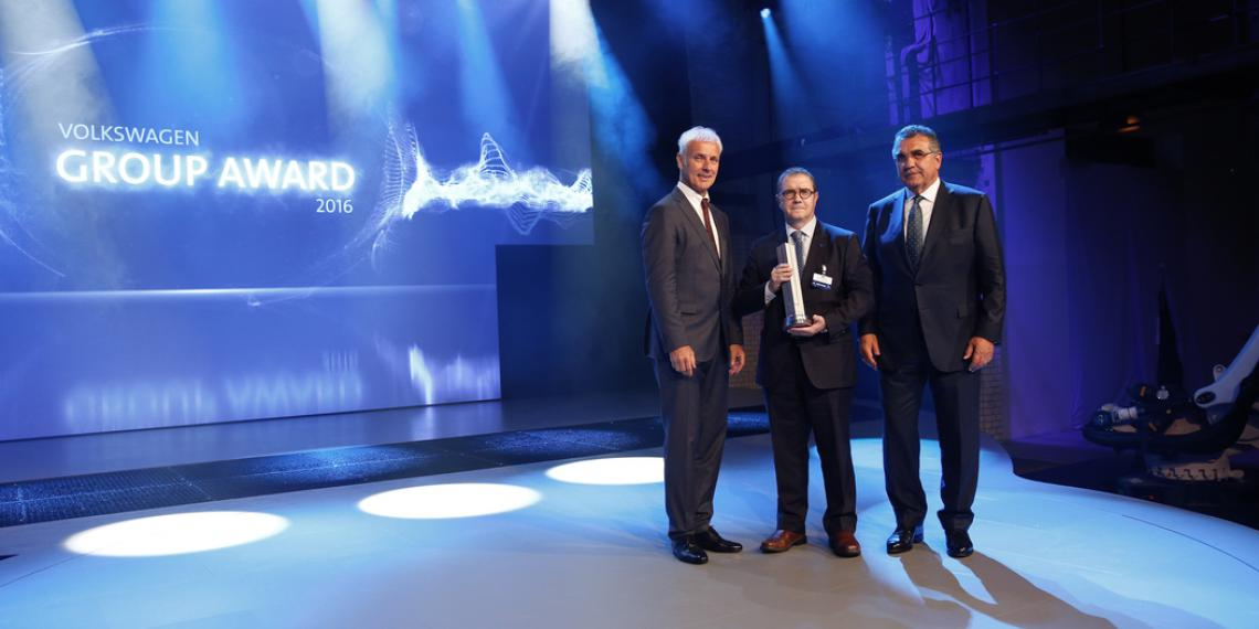 Federal-Mogul лауреат премии Volkswagen Group Award 2016