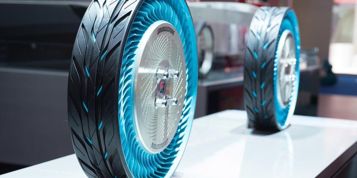 Bridgestone на международном автосалоне во Франкфурте