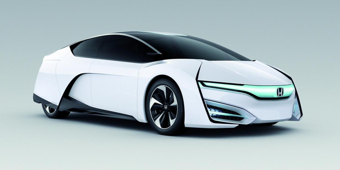 Honda на водородных топливных элементах