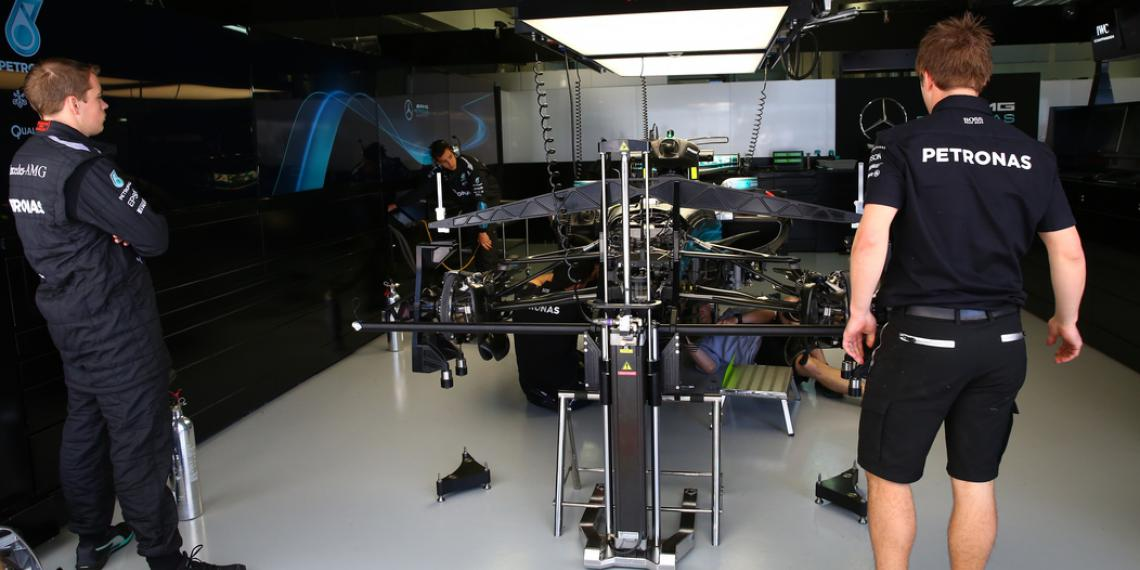 Пресс-день команды Mercedes AMG Petronas F1 Team