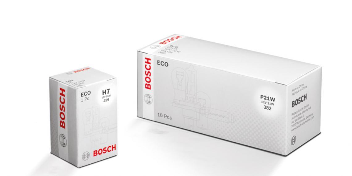 Бюджетные лампы серии Bosch ECO
