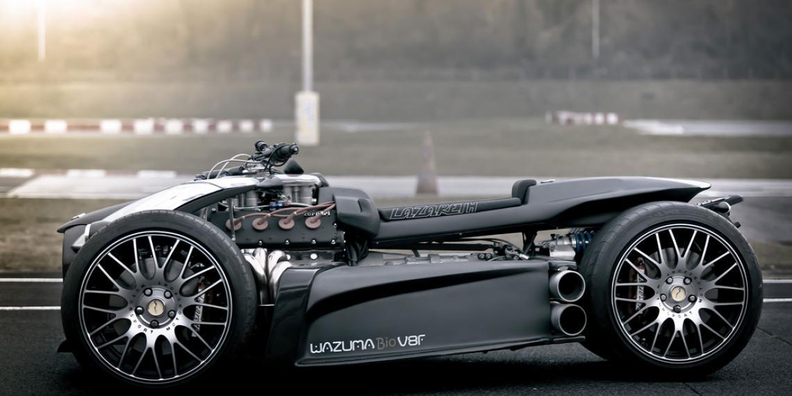 Компания NTN-SNR приняла участие в создании спортивного электрического трицикла E-Wazuma
