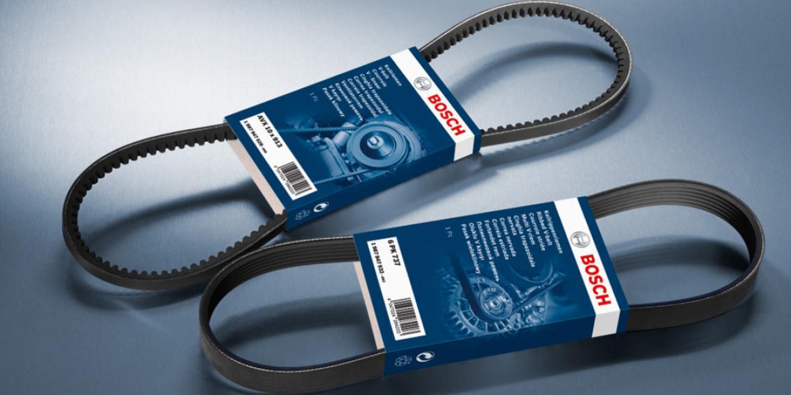 Клиновые и поликлиновые ремни Bosch