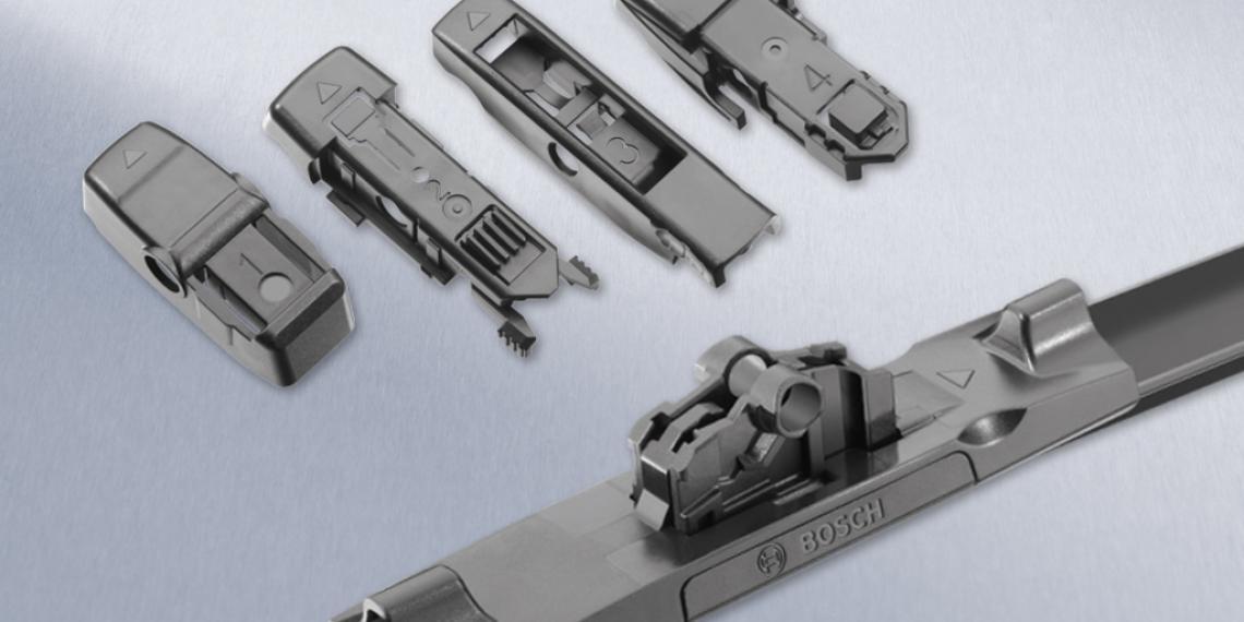 Щетки Bosch с универсальным набором адаптеров