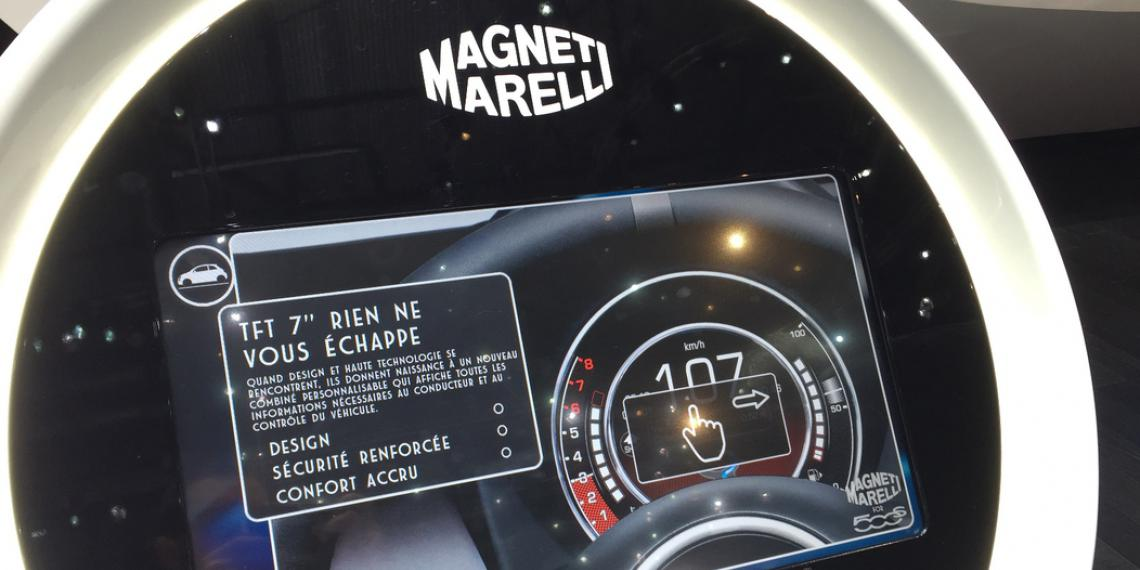 Технологии Magneti Marelli На Женевском автосалоне 2016