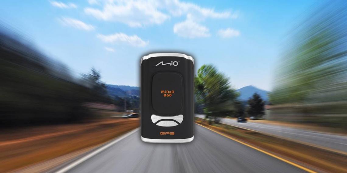 Первые радар-детекторы Mio Technology
