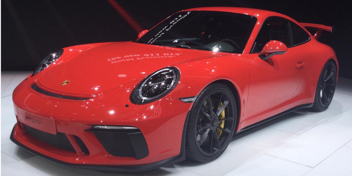 Шины MICHELIN Pilot Sport Cup 2 для Porsche 911 GT3