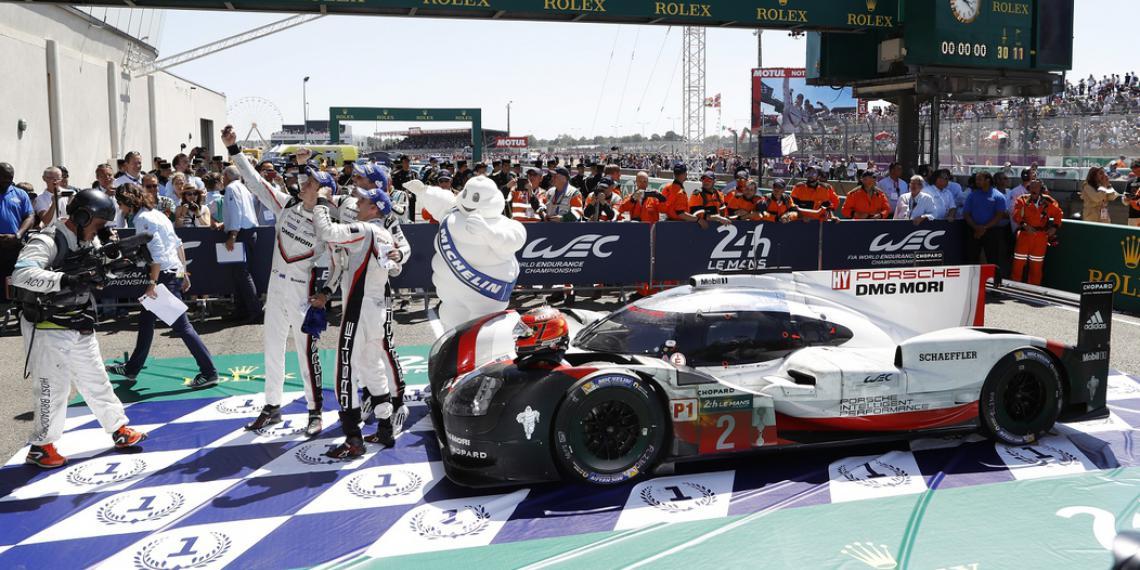20-ая победа Мишлен на гонке «24 часа Ле-Мана»