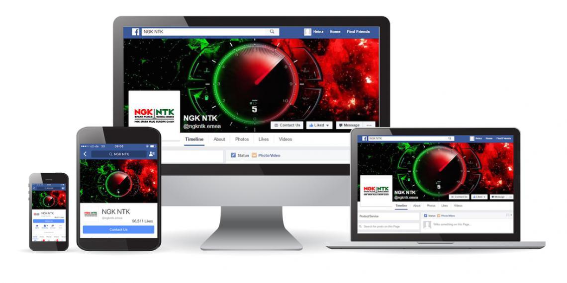 Новый аккаунт NGK в Facebook