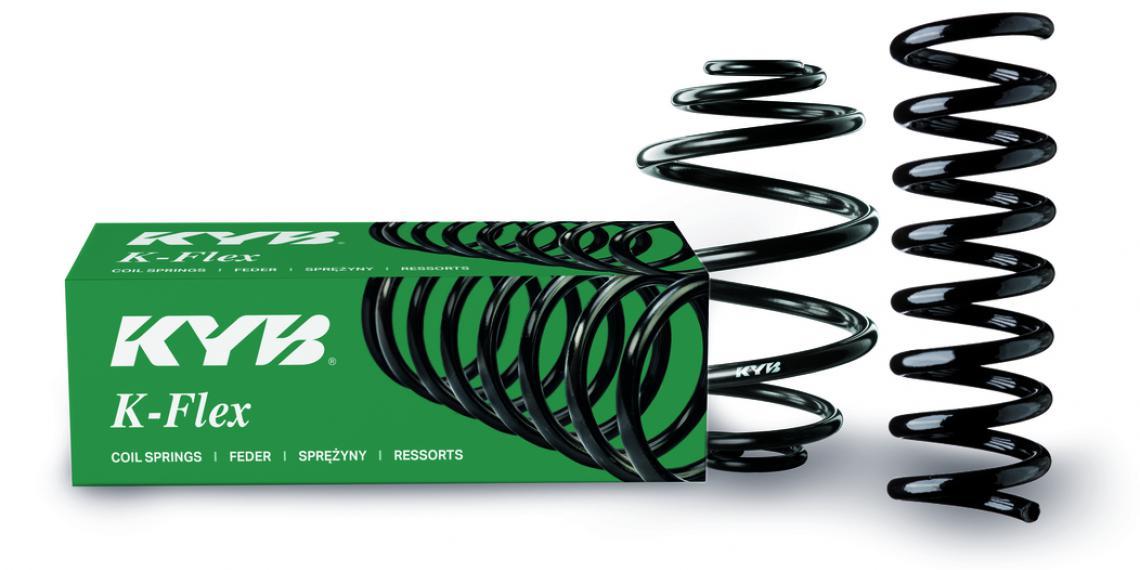 KYB обновила дизайна коробки для пружин серии K-Flex