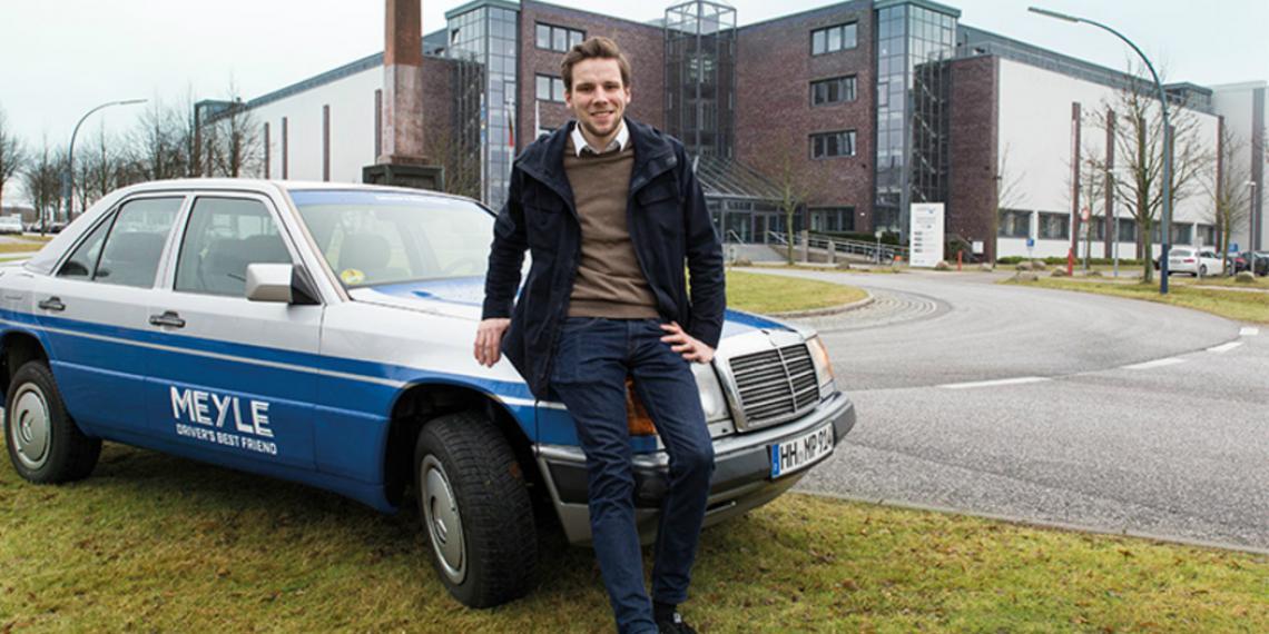 Стажеры MEYLE подготовили Mercedes-Benz W124 для ралли Dust&Diesel
