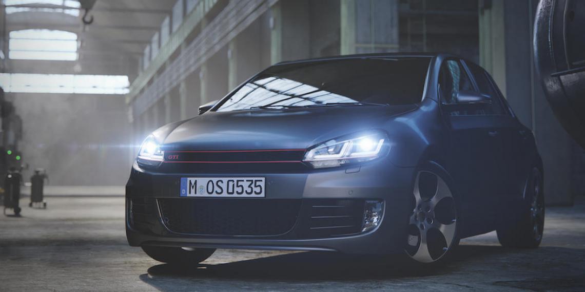 Новые ксеноновые фары Osram для Volkswagen Golf 6