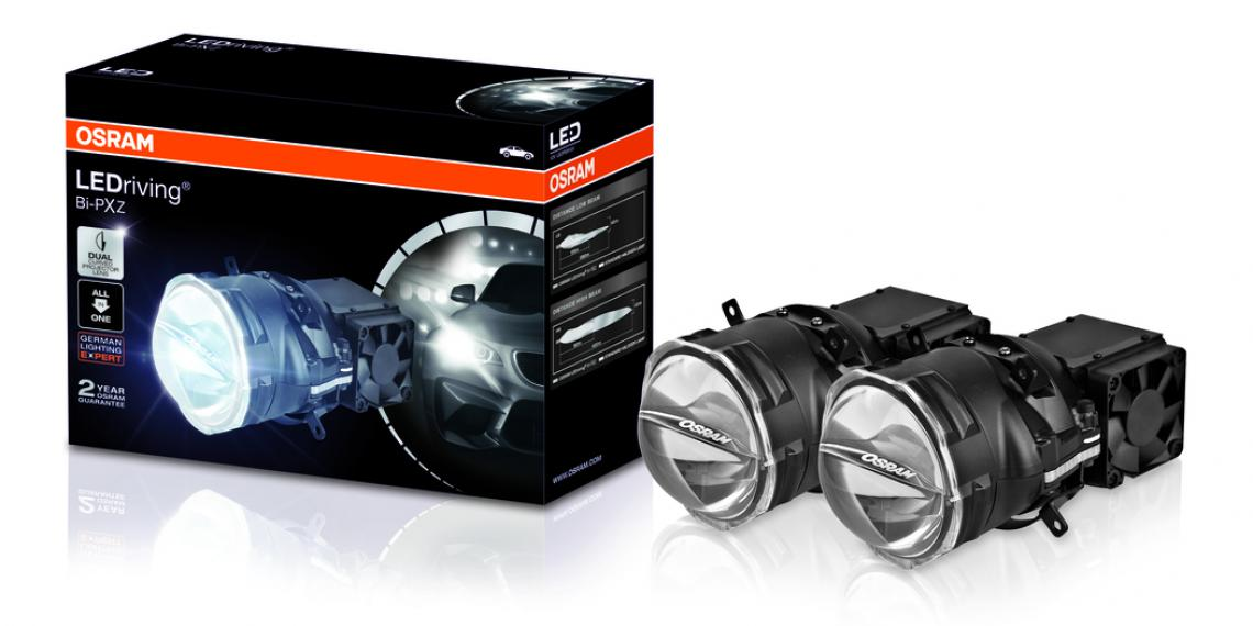 Новая светодиодная оптика для тюнинга Osram