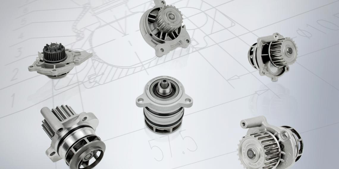 Водяные насосы HD-качества для автомобилей концерна VAG