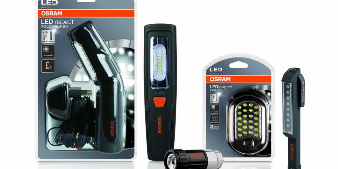 Фонари OSRAM LEDinspect® для механиков и автомобилистов
