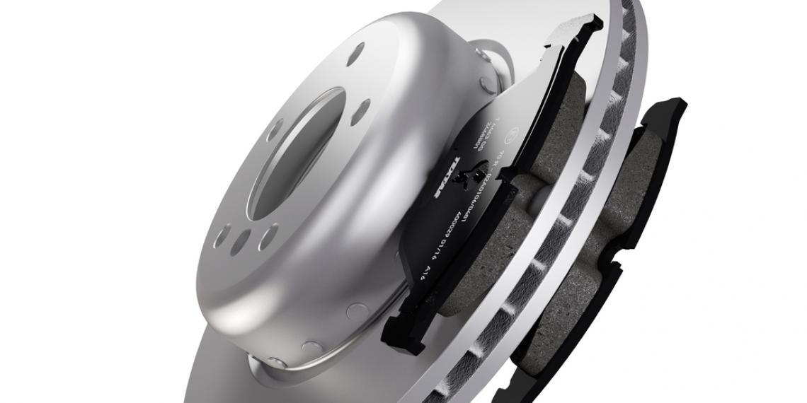 Двухкомпонентные тормозные диски Textar
