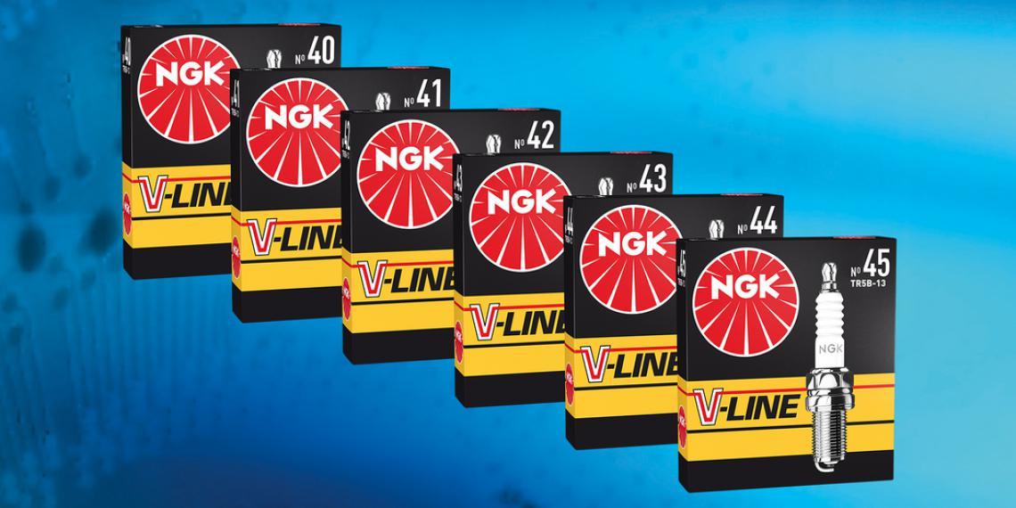 Шесть новобранцев в линейке NGK