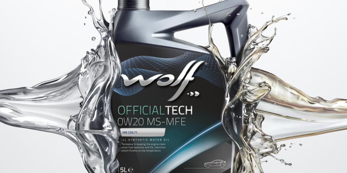 Масло WOLF для новейших двигателей Mercedes-Benz