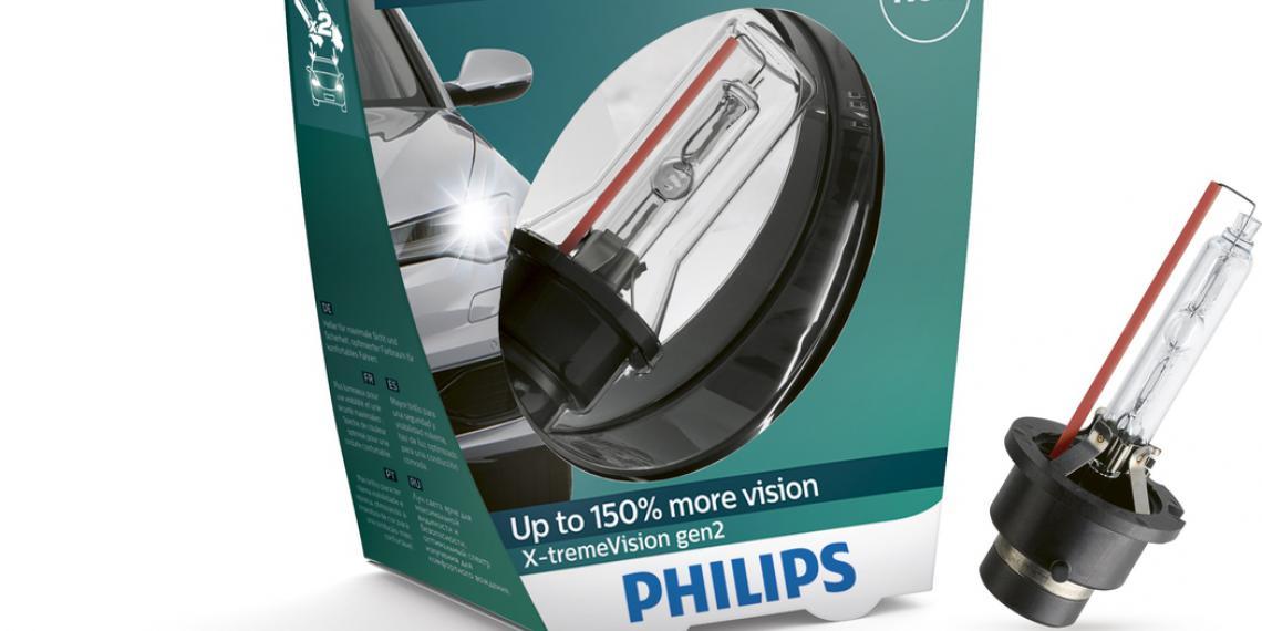 Комфорт и уверенность с лампами Philips Xenon X-tremeVision второго поколения
