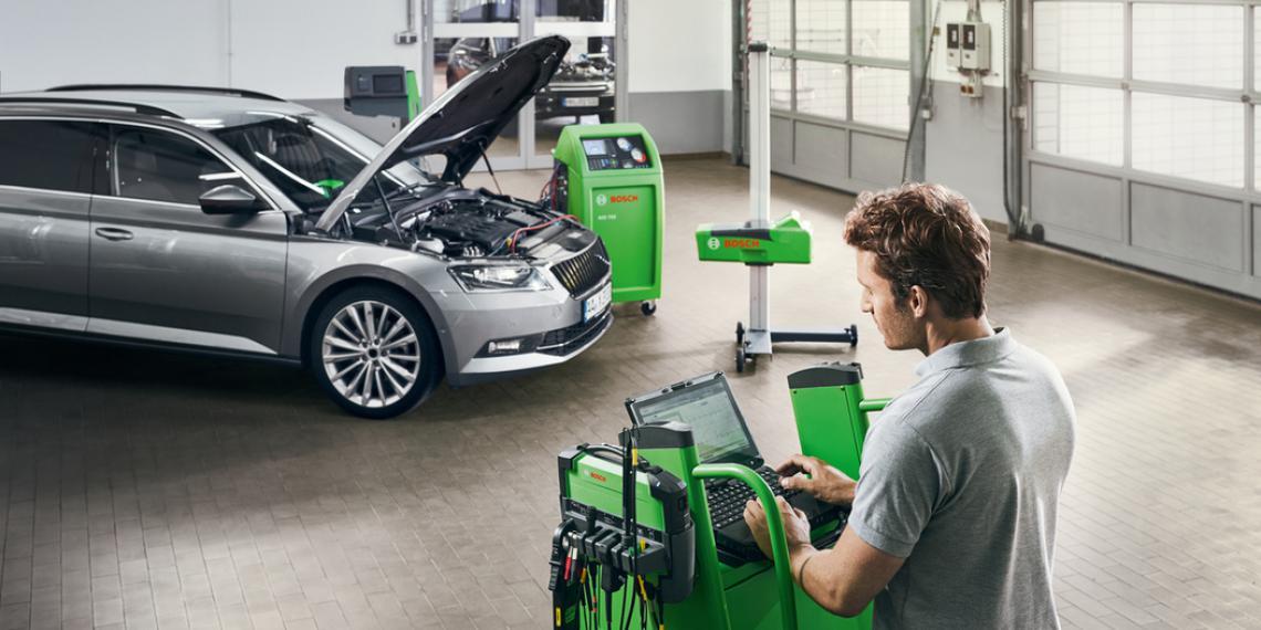 Bosch покажет концепцию современной СТО на выставке MIMS