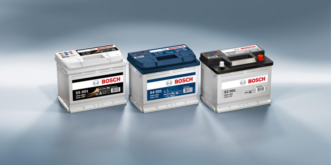 Аккумуляторы Bosch назвали самыми узнаваемыми