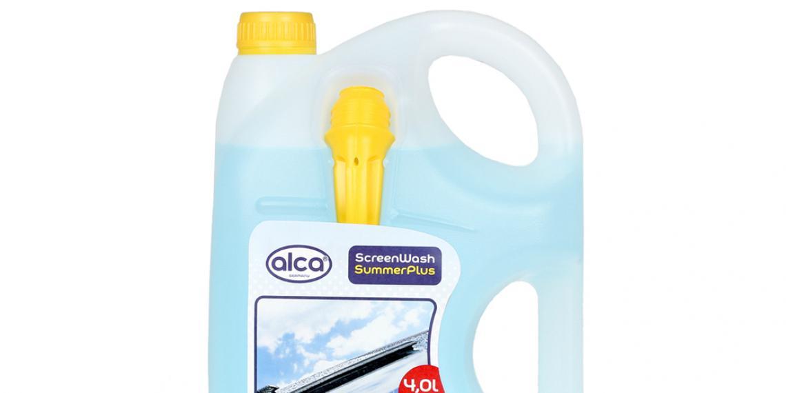 alca впервые выпустил стеклоомывающую жидкость
