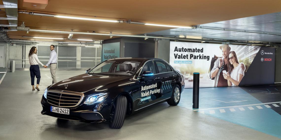 Bosch и Daimler. Ручная парковка уходит в прошлое