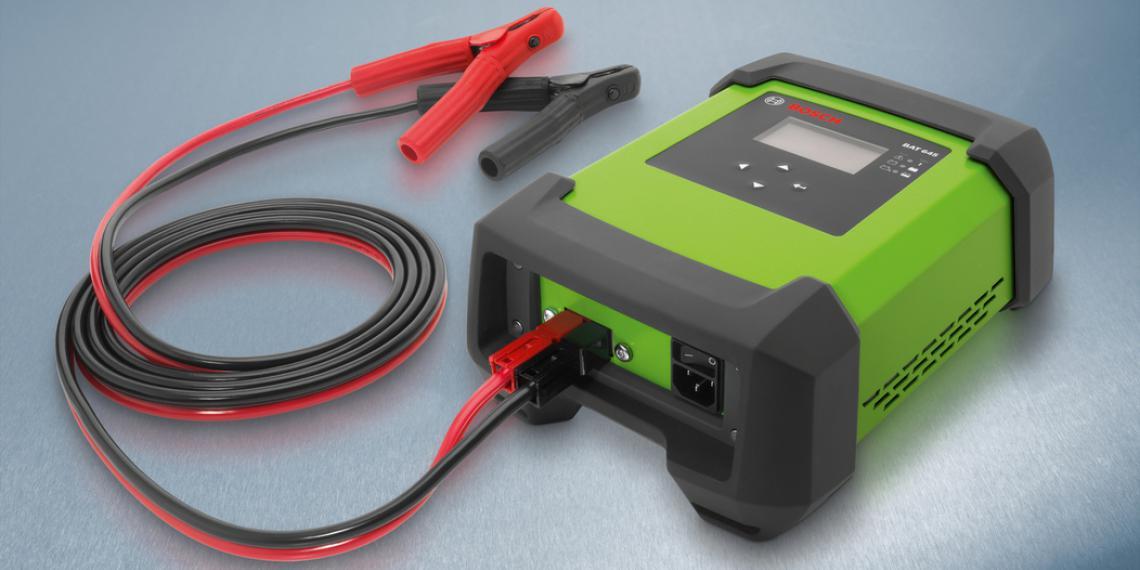 Полностью автоматизированное зарядное устройство Bosch