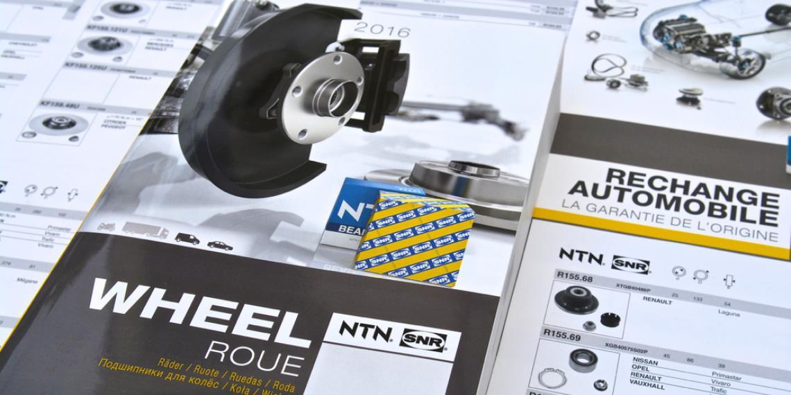 Новый каталог NTN-SNR по подшипникам для колес