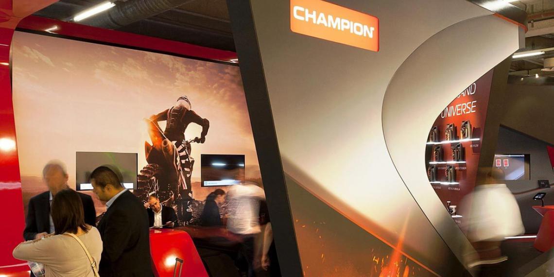 Champion на выставке Automechanika 2018
