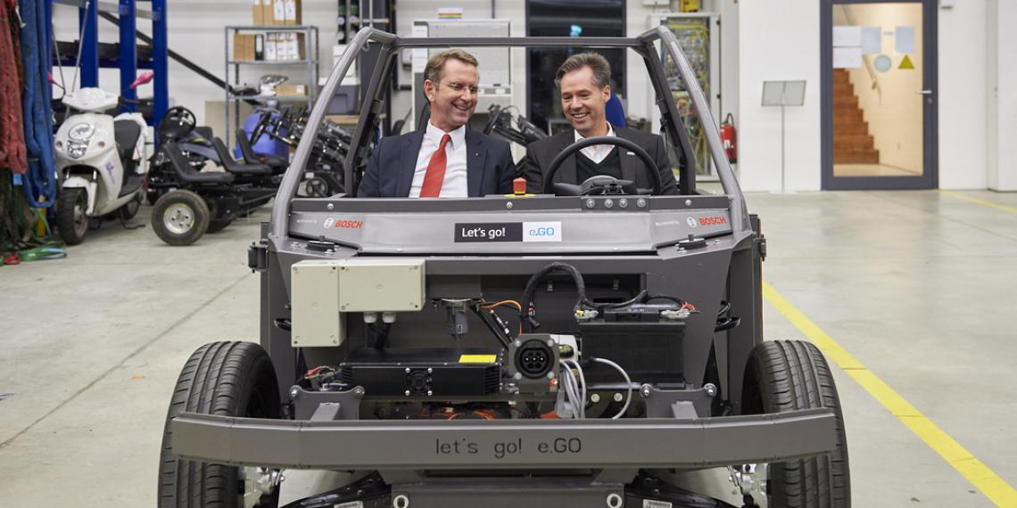 Bosch и e.GO Mobile: расширяют сотрудничество в области электромобилей