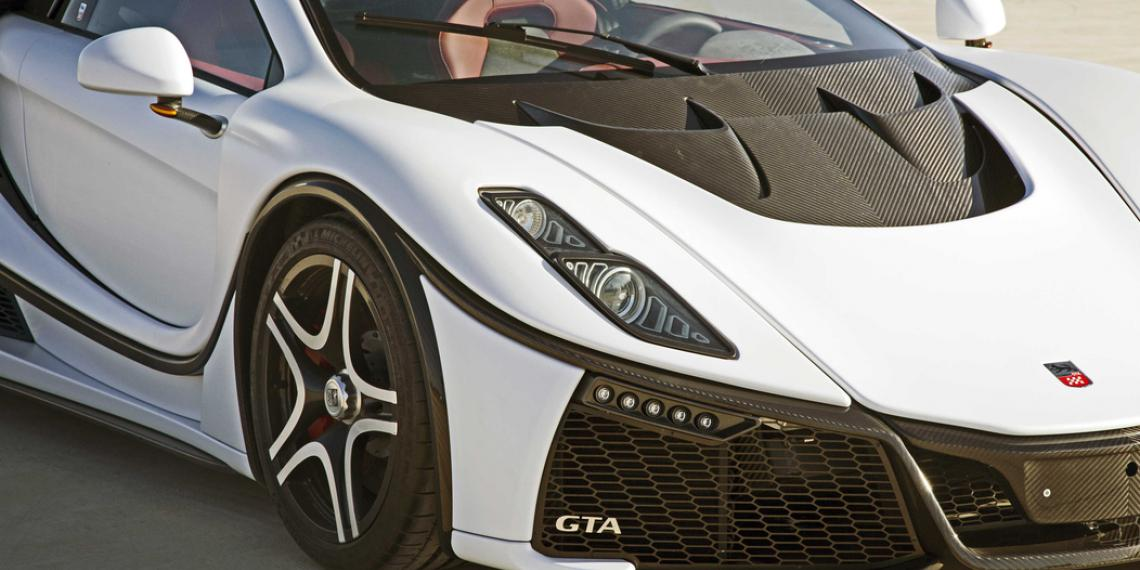 MICHELIN Pilot Super Sport для GTA Spano
