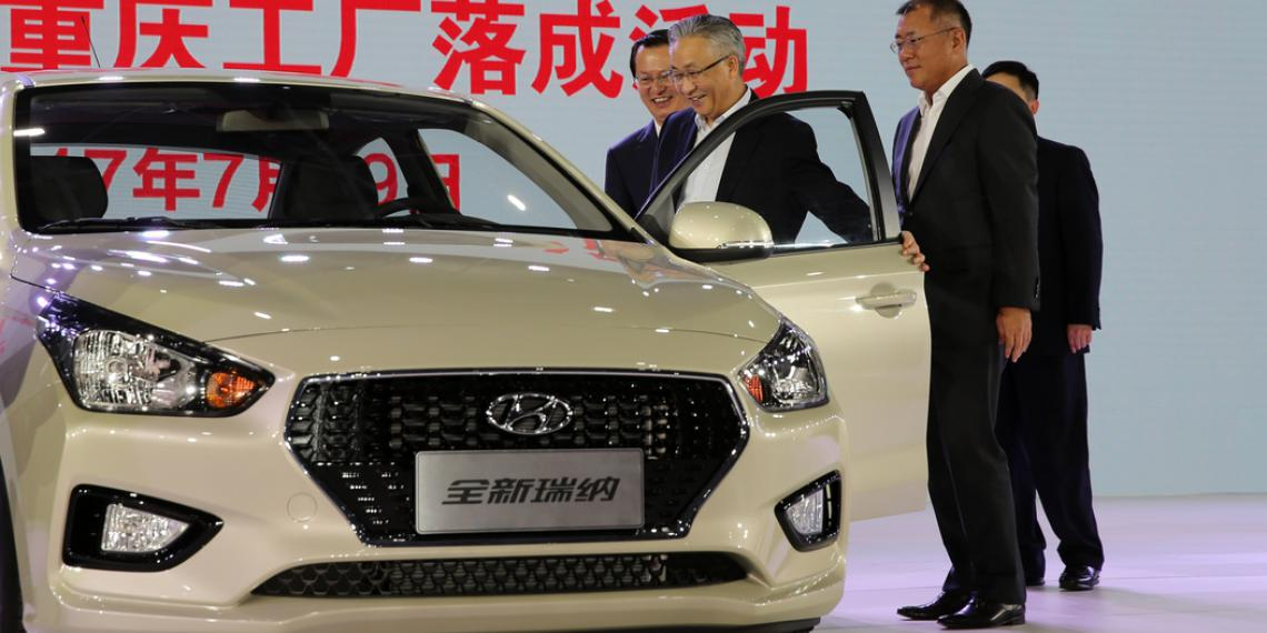 Hyundai Motor открывает пятый завод в Китае